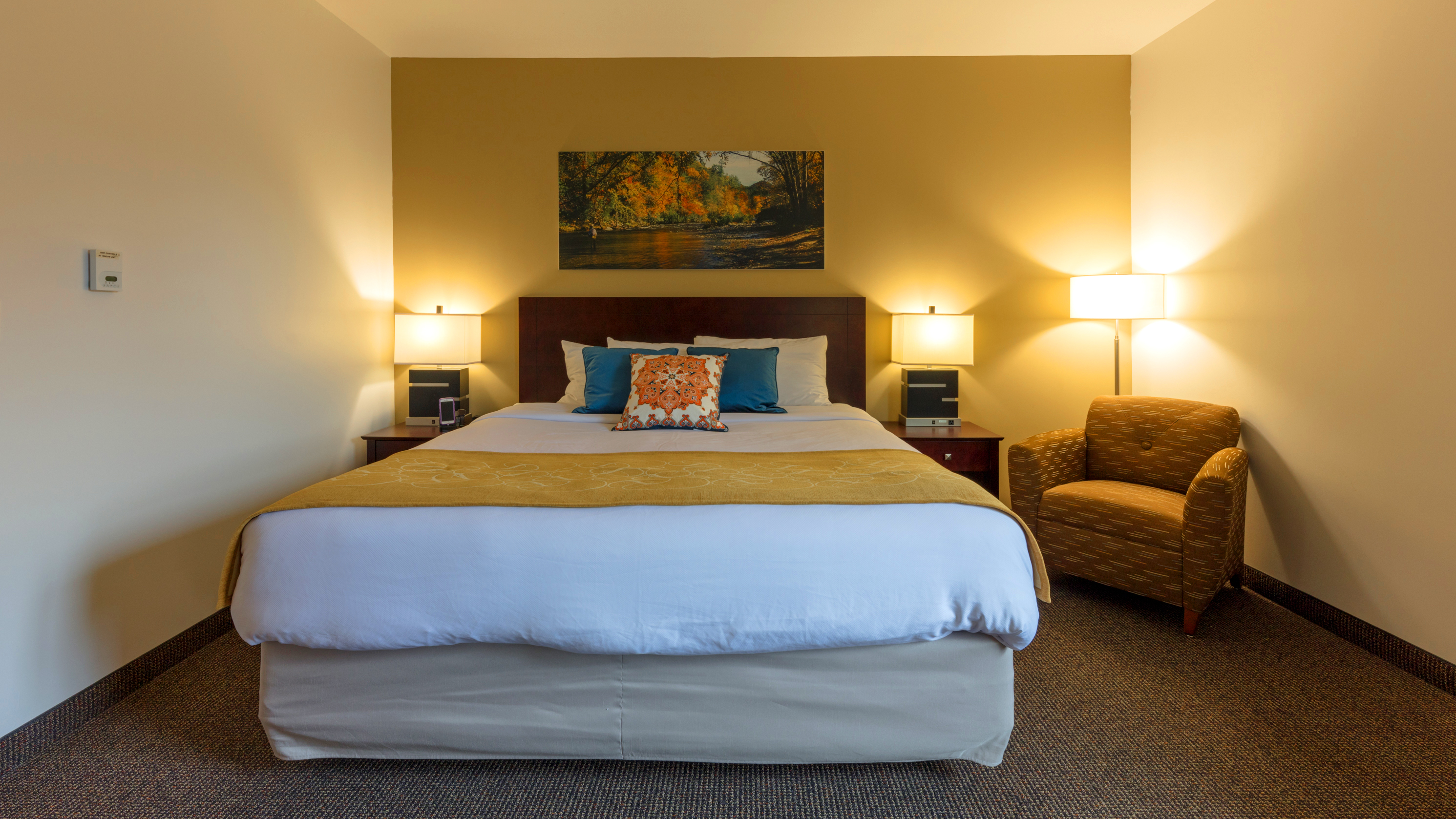 ornl guest house king bed